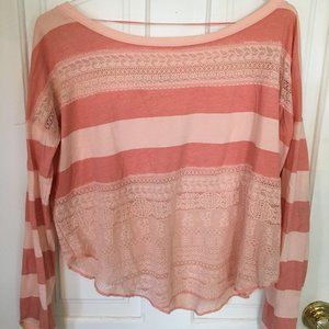 Striped Free people top
